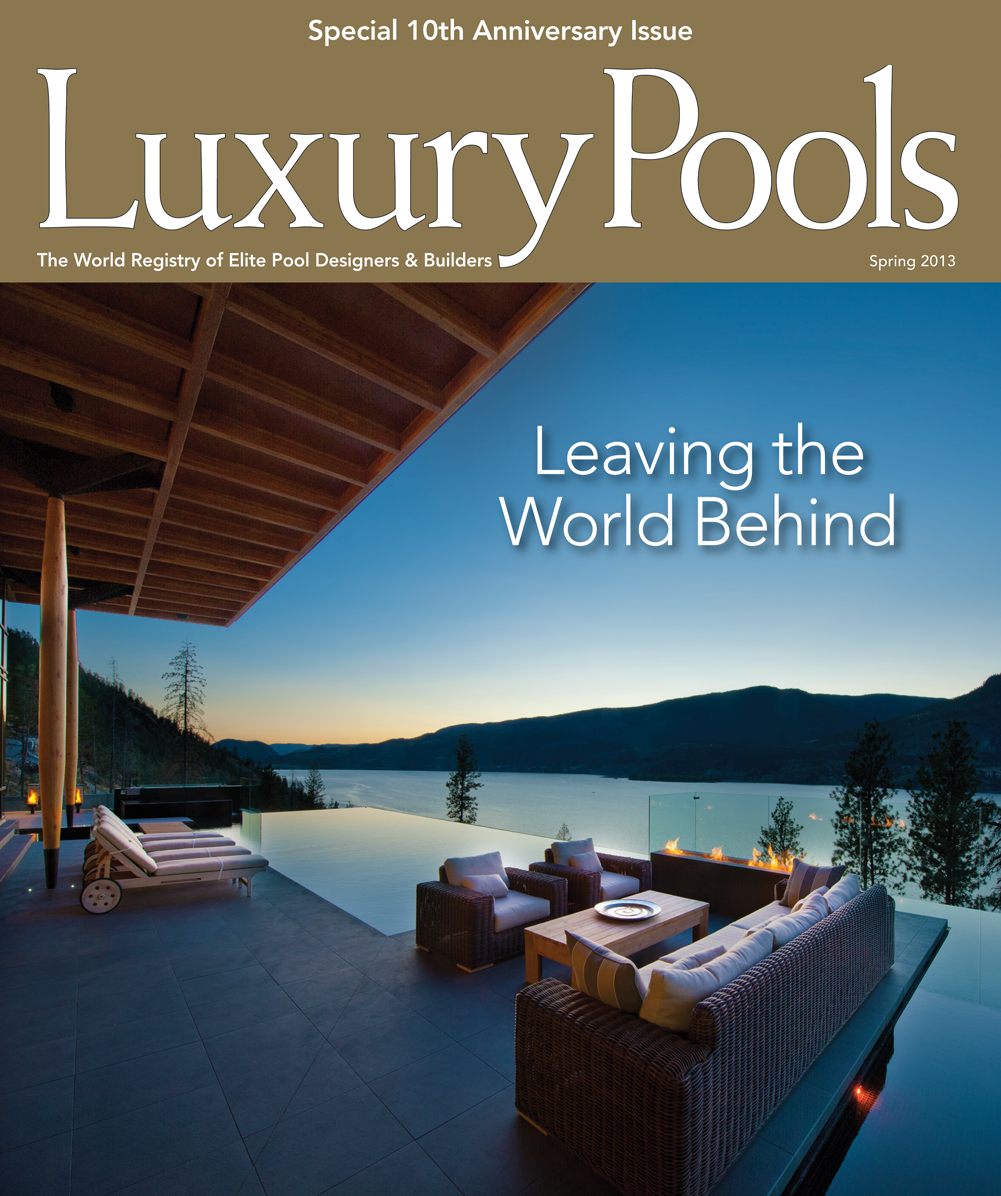 Luxury Pools Magazine Spring 2013