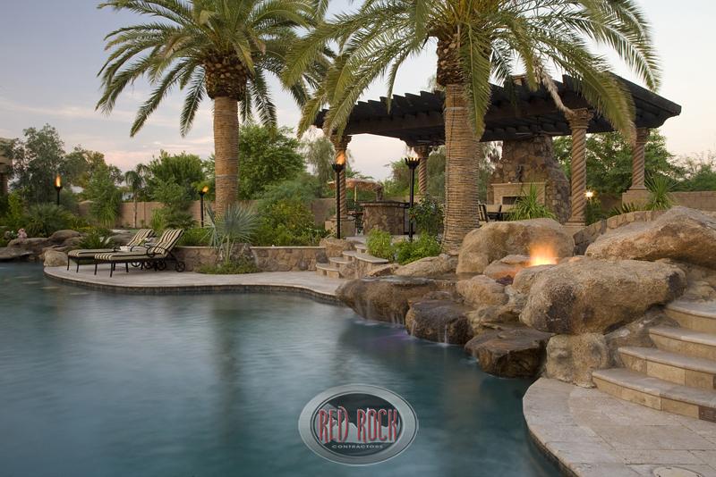 Backyard With Pool