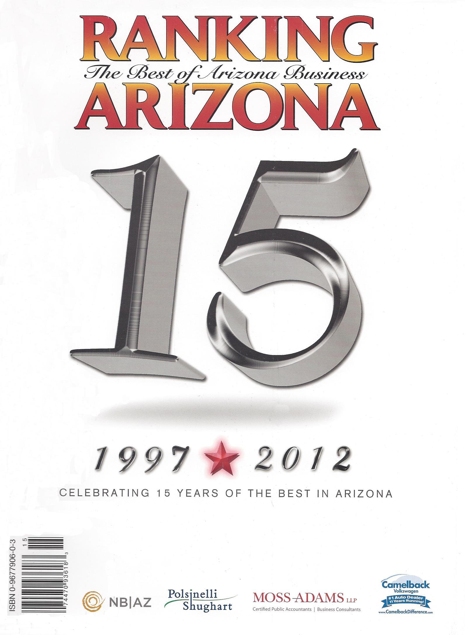 Ranking AZ 2012