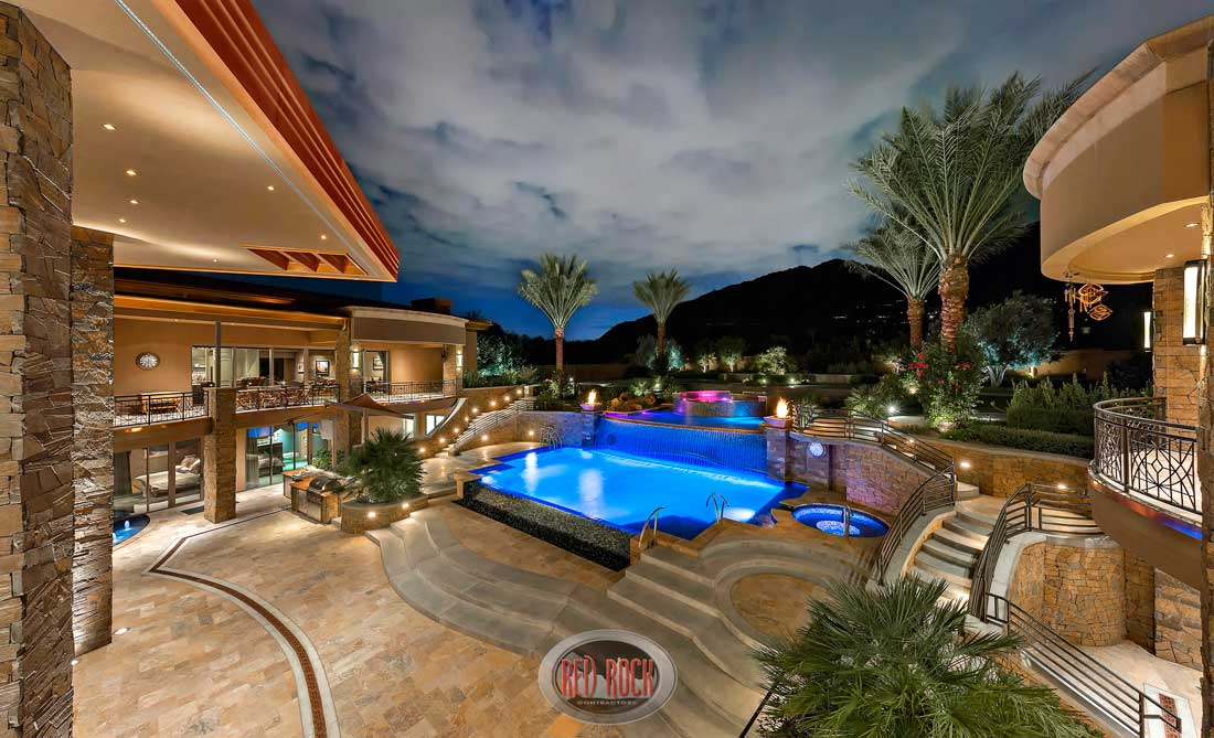 Red Rock Contractors Provide Luxury Pool Design ... Raised Ranch Backyard Spa Ideas on barbecue backyard ideas, duplex backyard ideas, farmhouse backyard ideas, townhouse backyard ideas, cabin backyard ideas, forest backyard ideas, english backyard ideas, barn backyard ideas, oriental backyard ideas, industrial backyard ideas, traditional backyard ideas, cowboy backyard ideas, vacation backyard ideas, waterfront backyard ideas, craftsman backyard ideas, cape cod backyard ideas, french backyard ideas, mission backyard ideas, custom backyard ideas,